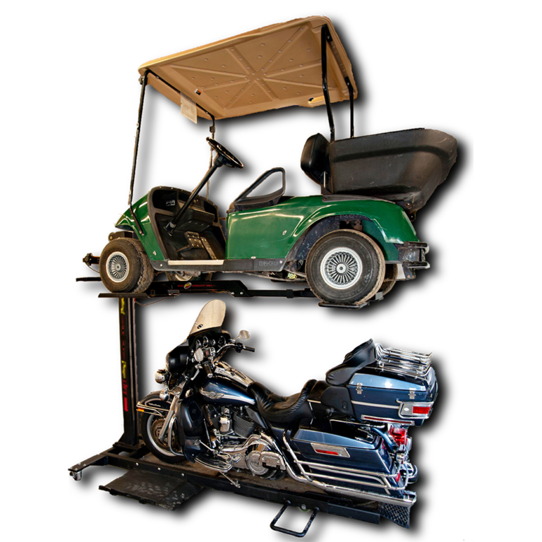 golf kart storage lift