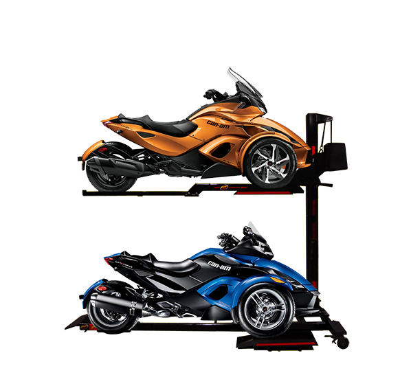 can-am spyder storage lift