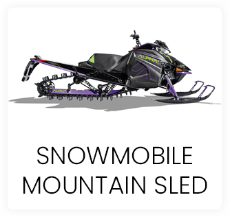 Snowmobile Mountain Sled