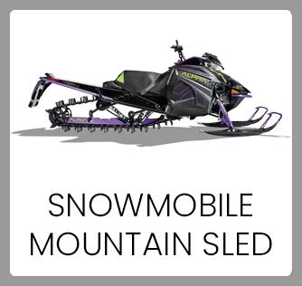 Snowmobile Mountain Sled