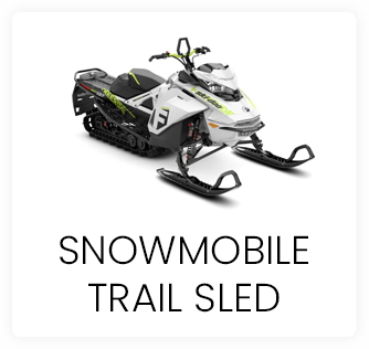 Snowmobile Trail Sled