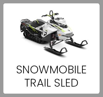 Snowmobile Trail Sled