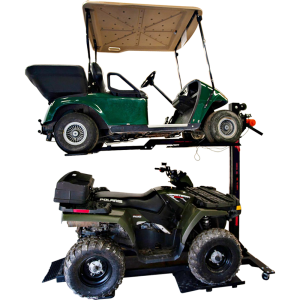 Golf Cart storage lift
