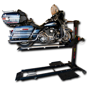 Motorcycle storage lift