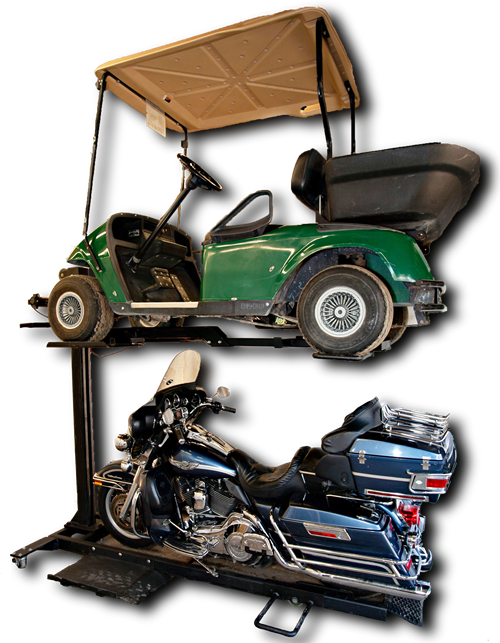 golf cart storage lift
